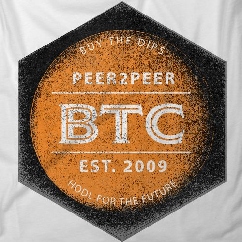 BTC Buy The Dip - Custom Designs