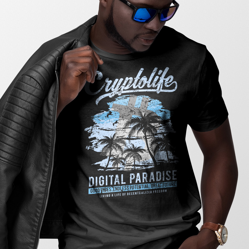 Cryptolife Digital Paradise Custom Design